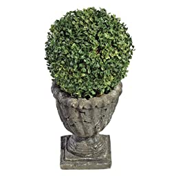 Design Toscano The Topiary Tree Collection Medium Ball, Multicolored