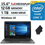 "2016 Premium Performance HP Pavilion 15.6"" Full HD IPS Display Laptop, Intel Core I7-6500U Processor, 12GB RAM..."