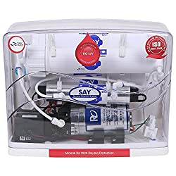 SAY 8 Stage 12L RO UV TDS Controller Water Purifier with 4G Pressure Tank & Faucet Set