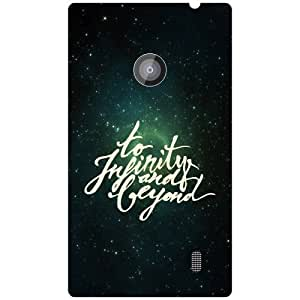 Nokia Lumia 520 to infinity & beyond Phone Cover - Matte Finish Phone Cover