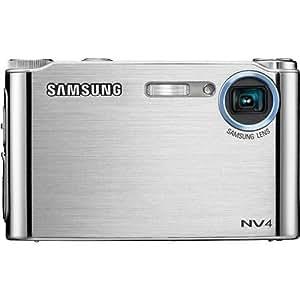 Samsung NV4 8.1MP Digital Camera with 3x Optical Zoom (Silver)