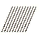 10 Pcs Replacement 2.1mm Diameter Metal Twist Drill Bit