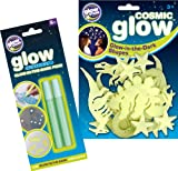 The Original Glowstars Company Cosmic Glow Dinosaurs and Glow Creations Glow-in-the-Dark Pens