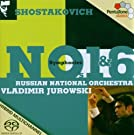 Symphonies No. 1 And No. 6 (Jurowski) [Sacd/CD Hybrid]