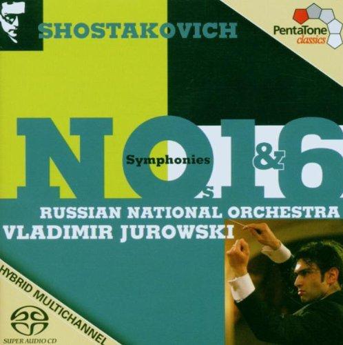SHOSTAKOVICH / RUSSIAN NATIONAL ORCH / JUROWSKI