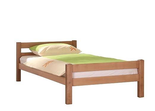 relita massivholzbett helga 90x200 natur lackiert. Black Bedroom Furniture Sets. Home Design Ideas