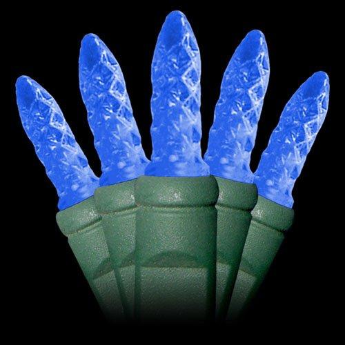 Blue Mini Led Christmas Lights - Blue M5 Mini String Light 35Ft.
