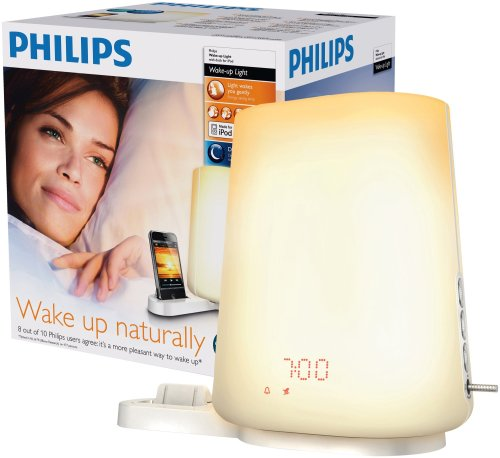 Philips HF3490 Wake-up Light Alarm with iPod Dock