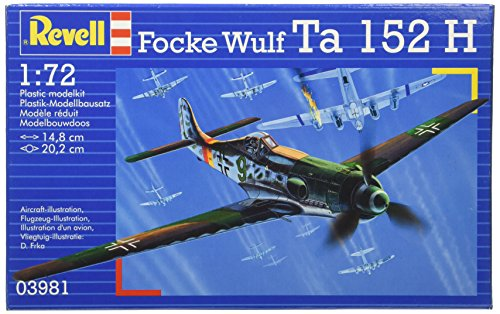 Revell Germany Focke Wulf Ta 152H Model Kit