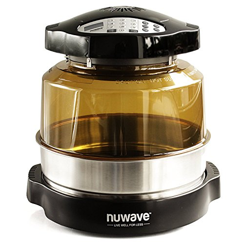 NuWave 20632 Pro Plus Oven with Stainless Steel Extender Ring, Black (Nuwave Oven Replacement Parts compare prices)