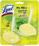 Lysol Toilet Bowl Cleaner, Automatic In-The-Bowl Disc, Citrus, 2-Count (Pack of 2)