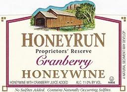 NV HoneyRun Winery Cranberry Honeywine 750 mL