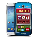 Head Case Designs Slots Machine Cases Protective Snap on Hard Back Case Cover for Samsung Galaxy Mega 58 I9150 I9152