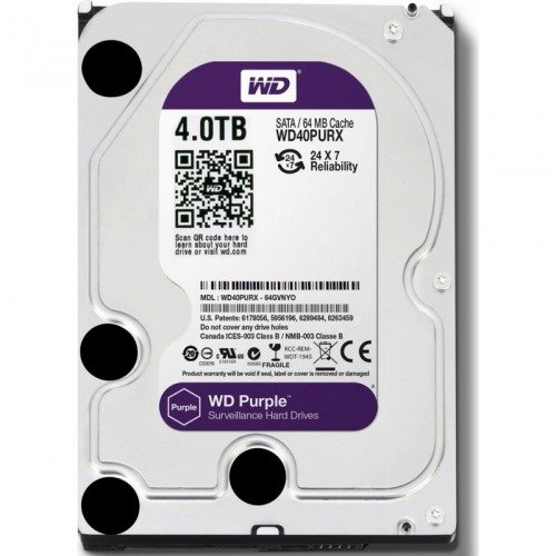 WESTERN DIGITAL 3.5インチ内蔵HDD 4TB SATA6.0Gb/s Intellipower 64MB WD40PURX