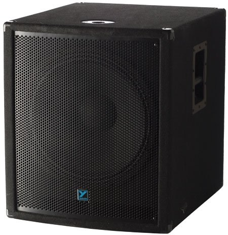 Yorkville Yx18S Passive Subwoofer 400 Watts Vented 18 Inch Front Loaded Bass Reflex Design