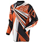 2012 Fox HC Undertow Motocross Jersey - Orange - Medium
