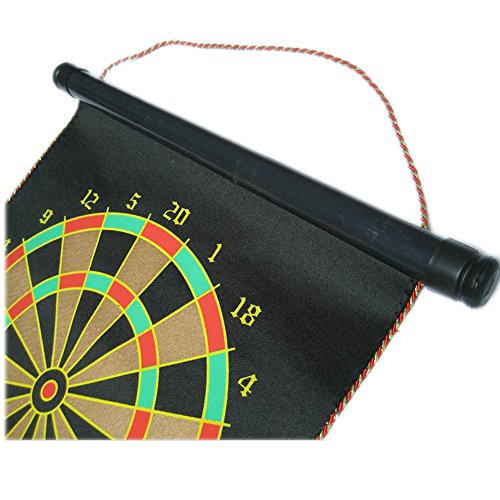 Magnetism 12 Dart Board Dart Disk Double Side 4 PCS High Magnetism Dart Needle tsuyoki dart 80f 113
