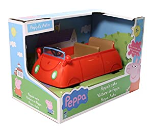 peppa pig peppa pig red car b b s pu riculture. Black Bedroom Furniture Sets. Home Design Ideas