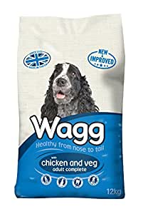 Wagg Complete Dog Food Chicken and Vegetable, 12kg