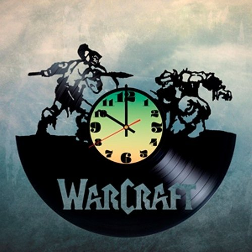 WORLD-of-WARCRAFT-Games-HANDMADE-Vinyl-Record-Wall-Clock-Get-unique-home-wall-decor-Gift-ideas-men-boys-Video-Games-Fans-Wonderful-Art-Design-Leave-us-a-feedback-and-win-your-custom-clock