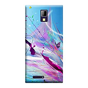 Phone Candy Designer Back Cover with direct 3D sublimation printing for Micromax Canvas Xpress A99