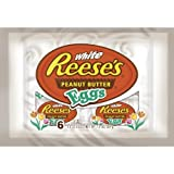 Reese's White Peanut Butter Eggs for Easter 6/ 1.2 oz individuals 2 pack