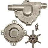 Chugger Stainless Steel Brewing Pump Inline Head (Comparable To March 809-PL-HS)