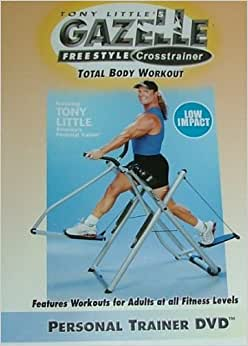 Tony Little's Gazelle Freestyle® Advanced Total Body Buttkickin' Workout truly is a buttkick'n ONE on ONE workout. Tony's high intensity motivation, ONE on ONE turbo sprints and visual motivation are particularly compelling in this video. And the custom music per workout .