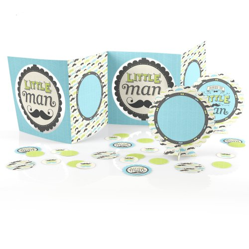 Dashing Little Man - Baby Shower Table Decorating Kit front-669901