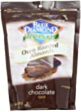 Blue Diamond Oven Roasted Almonds, Dark Chocolate, 14-ounce container
