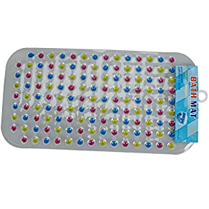 Great Value Bath Mats & Rugs Colorful Little Round Pearl Anti-slip Mat by Mzamzi