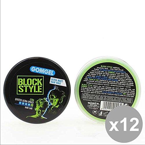 Set 12 GOMGEL Cera 100Ml Effetto Opaco Prodotti per capelli