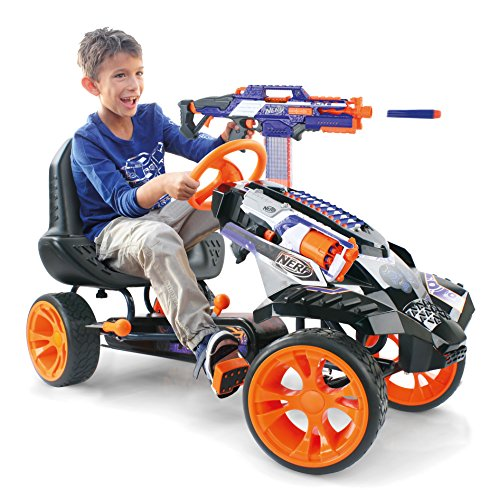 Read About Hauck Nerf Battle Racer Ride On