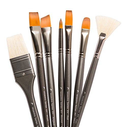Art paint brush set professional artist brushes for for Best paint brush brands