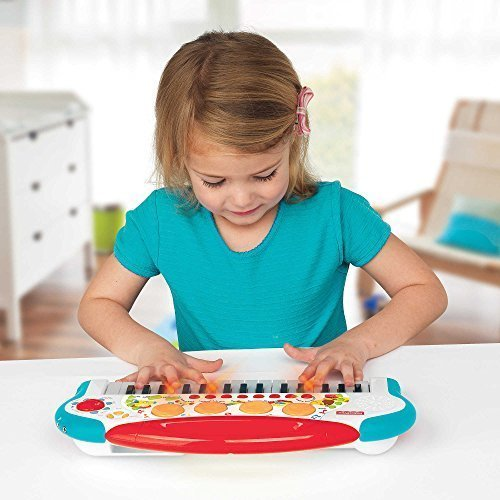 Fisher Price Teaching Keys Keyboard with Flashing Lights and Sounds (Fisher Price Musical Farm compare prices)