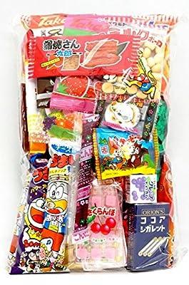 "Assorted Japanese Junk Food Snack ""Dagashi"" Economical 34 Packs of 27 Types from Dagashido"