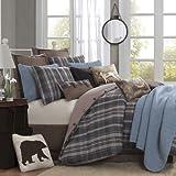 Woolrich Hadley Plaid Comforter Set, Twin, Multicolor