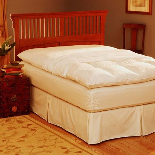 Buy Bargain Pacific Coast® Feather Bed Cover w zip closure King 80x86 Inch