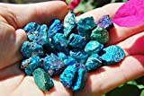 20 (TWENTY) AAA Grade CHARGED 500 - 650cts BABY PEACOCK ORE Chalcopyrite Crystals Healing Energy by ZenergyGems™