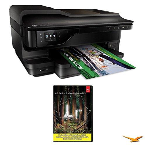 Big Save! Hewlett Packard Officejet 7610 Wide Format e-All-in-One Printer w/ Photoshop Lightroom 5 M...