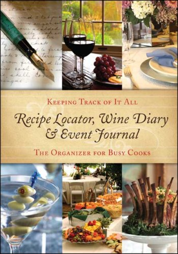Recipe Locator, Wine Diary &amp; Event Journal: Find Your Recipes Fast!