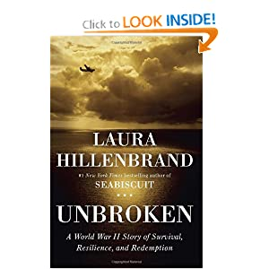 zamperini, unbroken book, wwII books, laura hillenbrand, books for book clubs