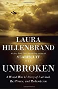 Unbroken: A World War II Story of Survival, Resilience, and Redemption by Laura Hillenbrand cover image