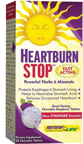Renew Life - Heartburn Stop, 30 chewable tablets