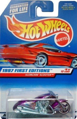 Hot Wheels by Mattel Scorchin' Scooter #9 of 12 - Purple