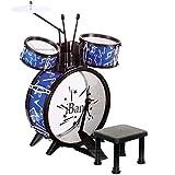Batterie drum kit tambour pour enfant avec tabouret