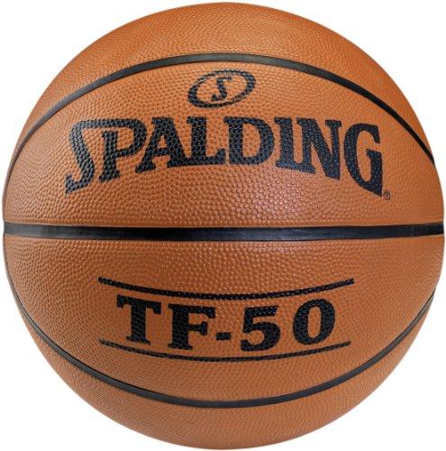Spalding - Pallone da basket Spalding TF50 out, misura 5(73-852Z), non colorato, Arancione (NOCOLOR)