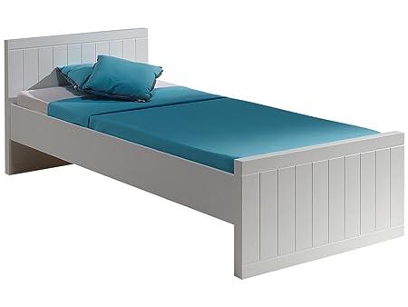 'Autobett robe9014Robin Bett MDF weiß lackiert 210x 96x 76,5cm