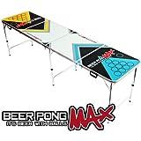 2.4m offiziellen Größe Beer Pong Max Klapptisch für das Bier Trinkspiel - Leicht & Portabel