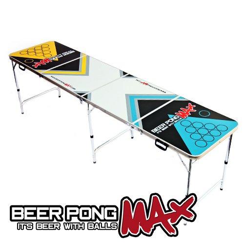 2.4m offiziellen Größe Beer Pong Max Klapptisch für das Bier Trinkspiel – Leicht & Portabel jetzt bestellen